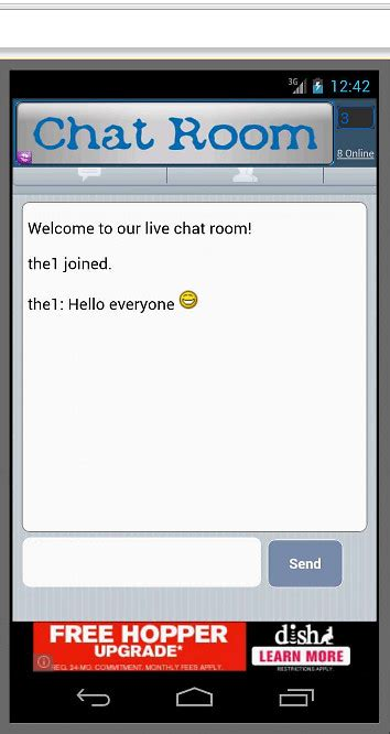 chat rooms free free chat room free android app the free free chat room app to your android