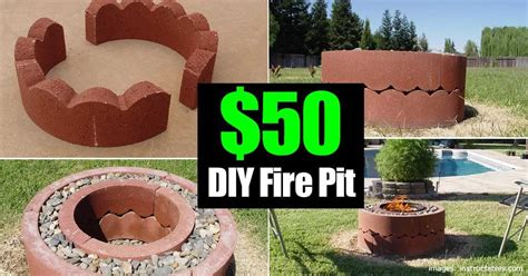 50 Dollar Fire Pit Diy And Movable How To Create A Pit In Your Backyard
