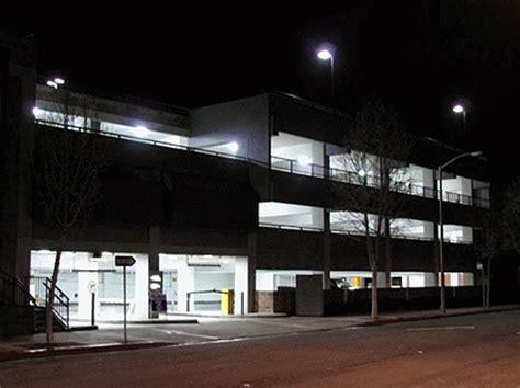 Parking Garage Lighting Fixtures Induction Parking Garage Lighting Systems Synergy Lighting Usa