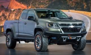 chevrolet colorado zr2 concept is one cool road diesel