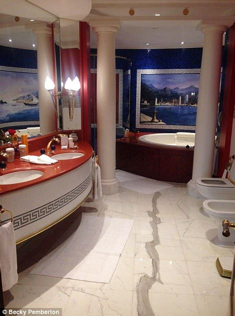 hotels with big bathtubs uk my night in dubai s 7 star burj al arab with revolving