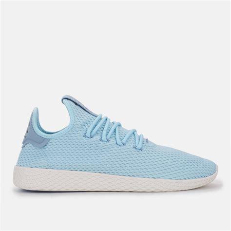 shop blue adidas originals pharrell williams tennis hu shoe for mens by adidas originals 7 sss