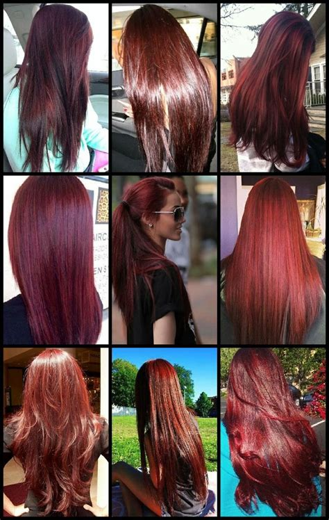 cherry hair color 25 best ideas about cherry coke hair on