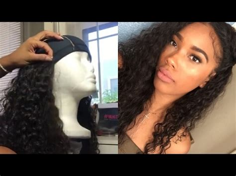 how to make a wig ft the vanity box malaysian curly hair