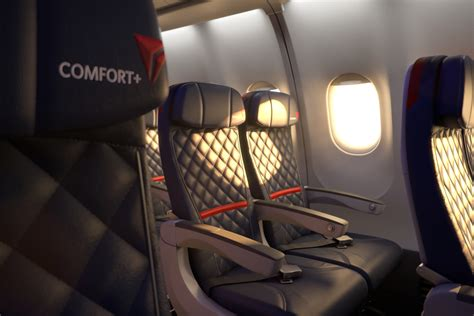 Comfort Seating by Delta S Comfort Upgrades Could Turn Into Frequent Flyer