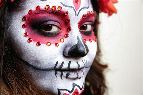 Makeup La how to apply la catrina makeup a day of the dead tutorial