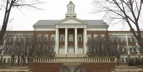Albemarle County Office Building former albemarle staff sue county to get their backc
