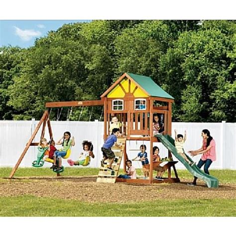 springfield swing set big backyard springfield wood gym set instructions alexandra