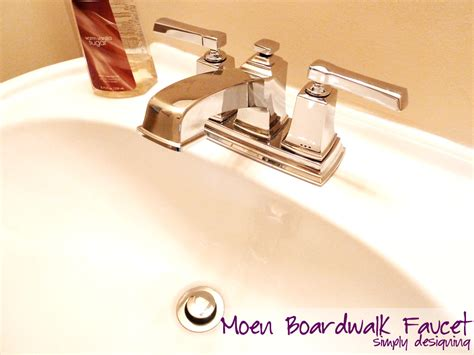 how to install a bathroom sink faucet how to install a new bathroom faucet in a pedestal sink moendiyer