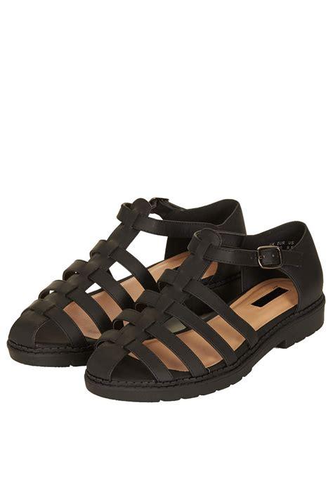 Sandal Wanita Carvil Resort 03 Black topshop florence gladiator sandals in black lyst