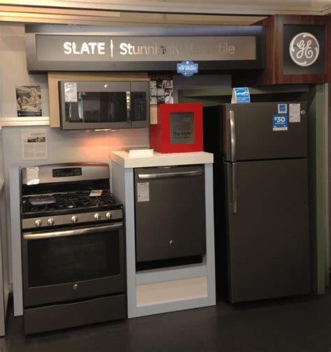 ge kitchen appliance ge slate appliances revolutionize kitchen style boston