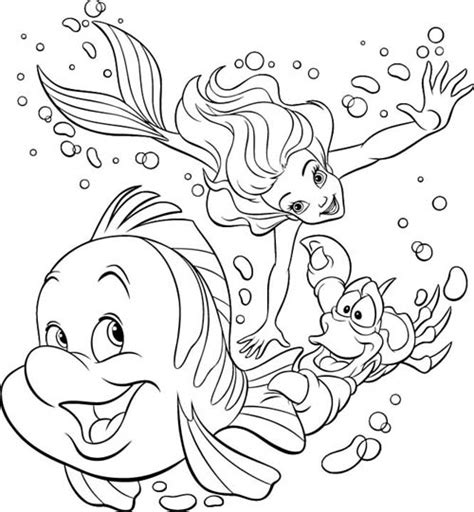 disney princess coloring pages little mermaid coloring page sirenetta mermaid
