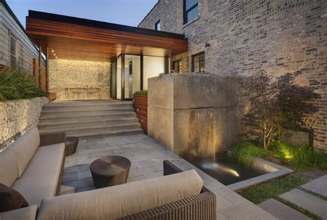 blender architecture 2041 west dickens contemporary patio chicago by