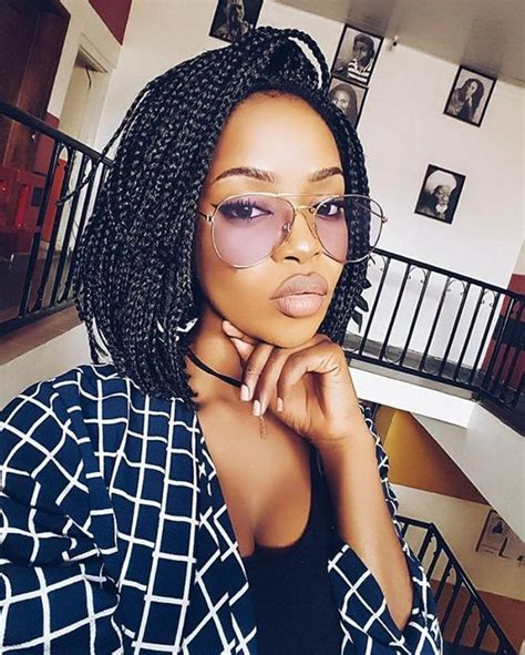 jawline length african braids with curly ends 60 totally chic and colorful box braids hairstyles to wear