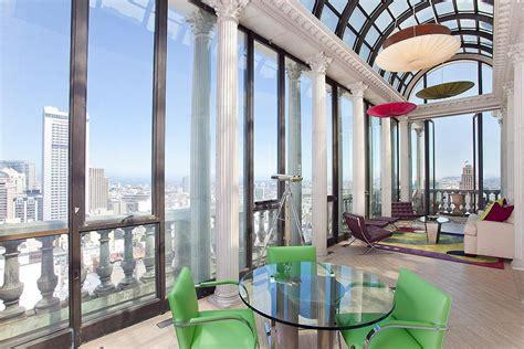 exquisite penthouse atop  art deco hamilton building