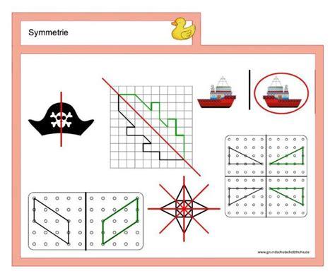 symmetrie kartei symmetrie mathe kartei und mathe