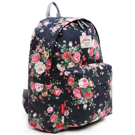 bags for school flower backpacks for school bag genova 2452