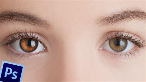 imagenes sorprendentes de ojos como retocar ojos en photoshop youtube