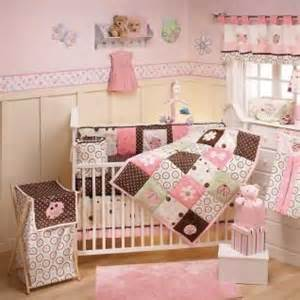 pink and brown nursery pink brown baby crib bedding and nursery themes on pinterest