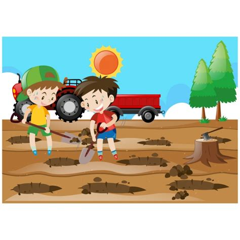 imagenes niños sembrando plantas crian 231 as semeando 225 rvores fundo baixar vetores gr 225 tis