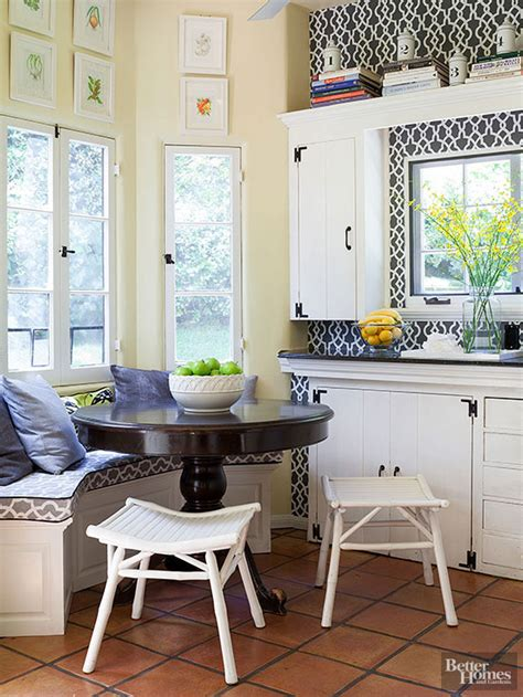 small kitchen banquette banquettes for small spaces