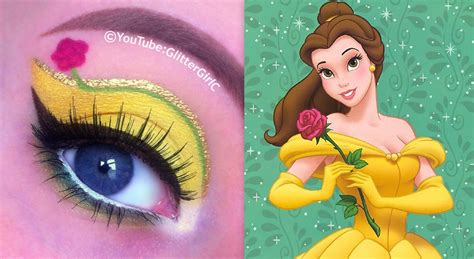 disney makeup tutorial disney s princess belle makeup tutorial youtube