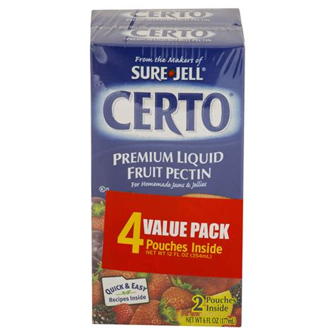 Sure Jell Detox Walmart by Liquid Certo