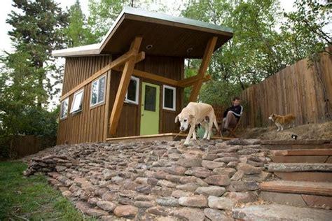 sq ft zen  law tiny house  murphy bed   loft