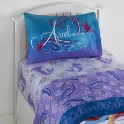 Ariel Bedroom Set Disney S Mermaid Sheet Set Home Bed