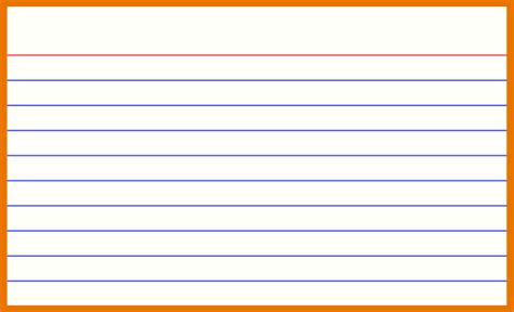 3x5 index card template with lines 100 free templates for 3x5 cards free printable