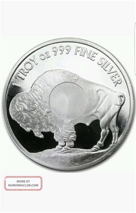 1 Troy Oz 999 Silver Indian Buffalo Bar - american indian buffalo 1 troy 1 oz silver coin 1 oz