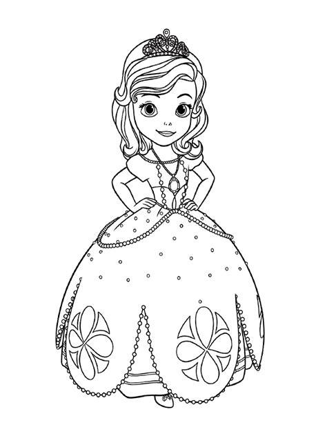 imagenes para pintar sofia dibujos de la princesa sofia para colorear dibujos disney