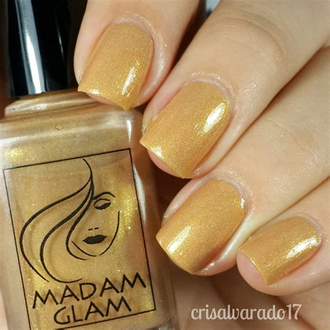 Madam Honey madam glam honey swatch by cristina alvarado