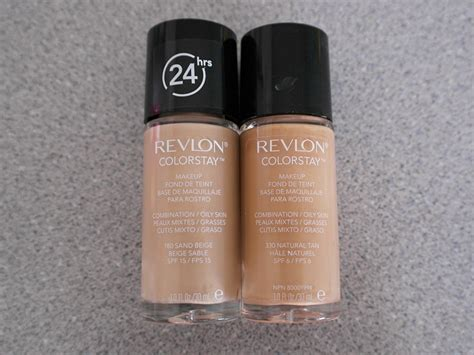 Foundation Revlon Colorstay 2018 Review New Revlon Colorstay Foundation Formula Koja