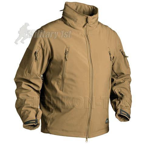 Jaket Cbv Pcs Black helikon gunfighter soft shell mens combat tactical army jacket us top coyote ebay