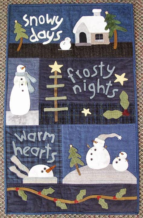 Best Quilt For Winter by Best 25 Snowman Quilt Ideas On Snowman