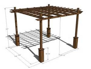 How To Build Pergolas by How To Build The Perfect Pergola The Garden Glove