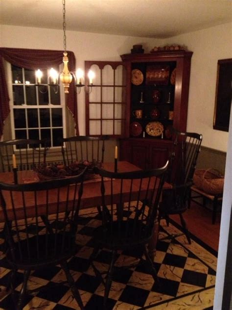 Beautiful Everything Dining Rooms Pinterest Primitive Dining Rooms