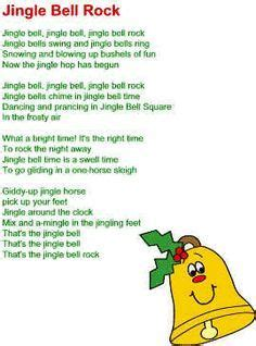 jingle bell rock lyrics christmas carols songs