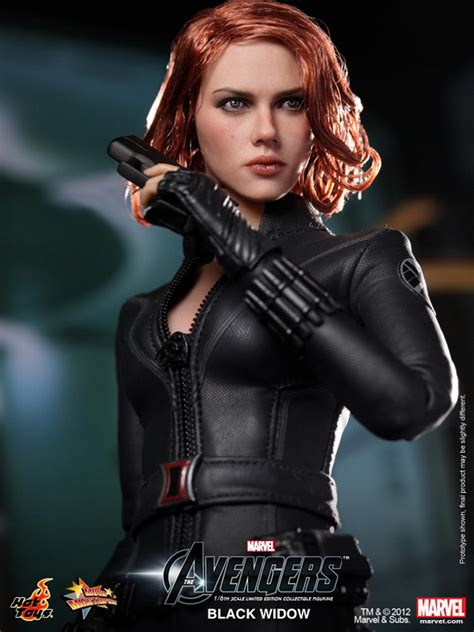 black widow hot hot toys the avengers 1 6th scale black widow limited