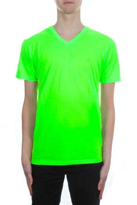 bright color shirts mens neon v neck t shirt by brave soul bright colour