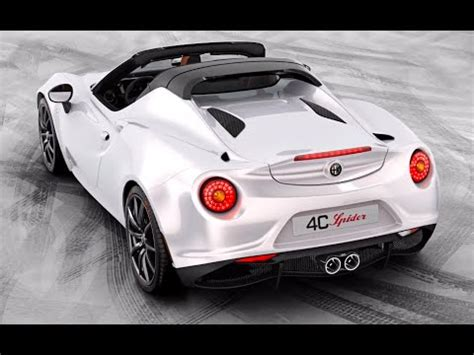 Alfa Romeo 4c America by 2016 Alfa Romeo 4c Spider Commercial Coming To