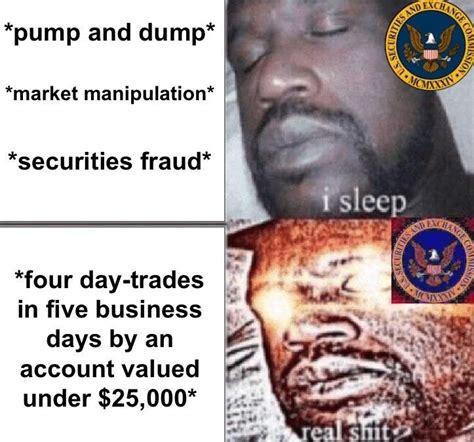 Sec Memes - funny stock market memes