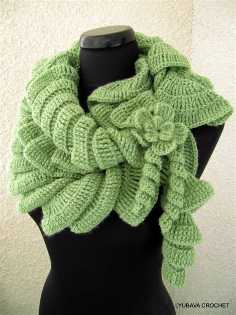 easy knitting pattern ruffle scarf easy crochet ruffle scarf pattern crochet and knit