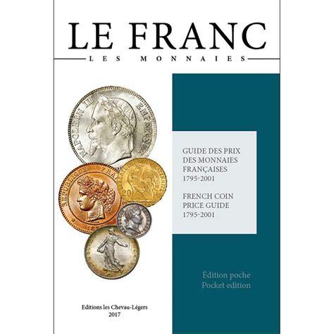 1362 livre monnaies le franc poche 2017 safe