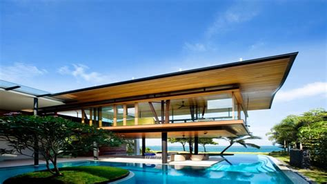 Contemporary House Designs Environmentally Friendly Modern Tropical House In