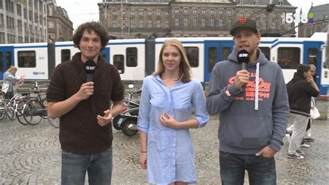 SEE IT Dutch Woman Runs Naked In Amsterdam For Radio