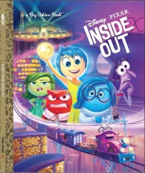 inside outside books new merchandise inspired by disney pixar s quot inside out quot