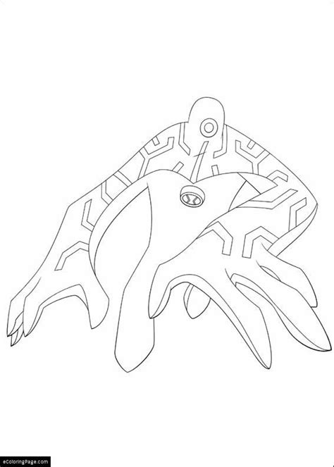Ben 10 Fast Track Free Coloring Pages Ben 10 Fast Track Coloring Page