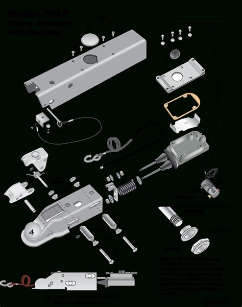 venture in electric trailer brake parts diagram